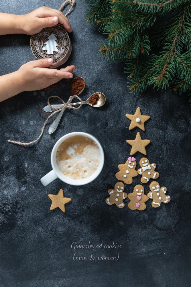 Gingerbread biscotti omino pan di zenzero