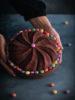Torta 'Arlecchino' di Carnevale al cioccolato, mascarpone e mou