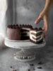 Zebra cheesecake vaniglia e cioccolato